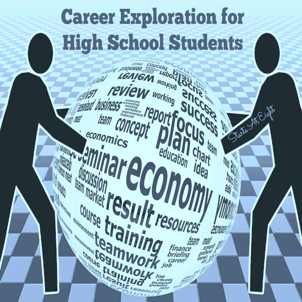 Career Exploration for High School Students Career