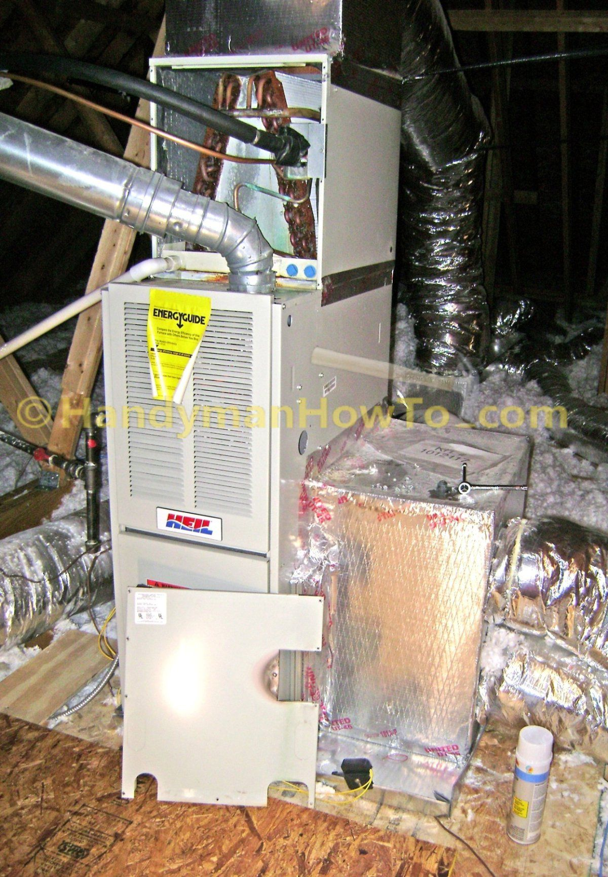 Ac evaporator coil cleaning access panel clean air