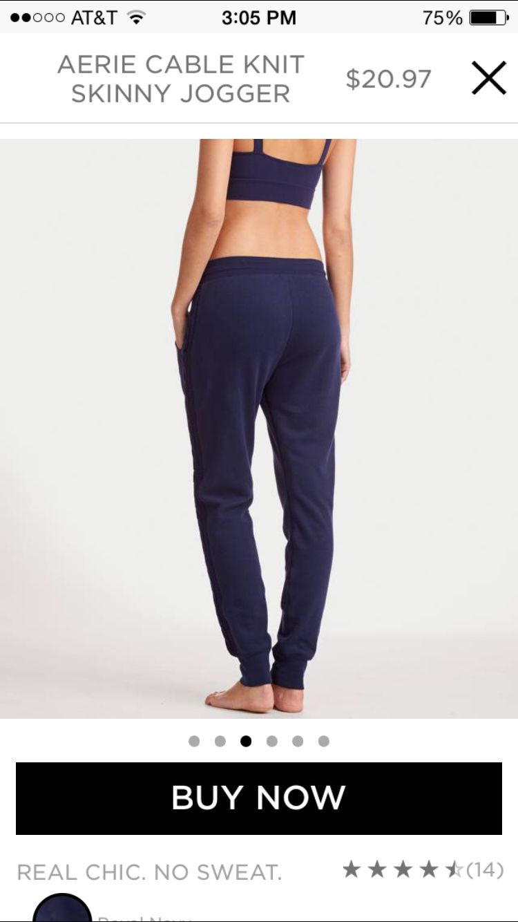 Aerie KNIT JOGGERS