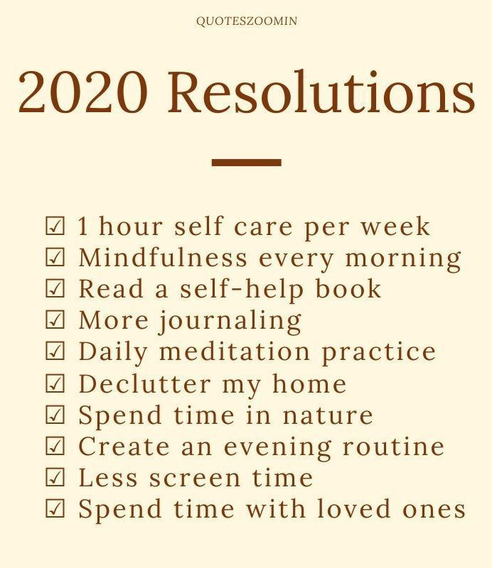 New Years Quotes 2020 : New year goals resolutions ...