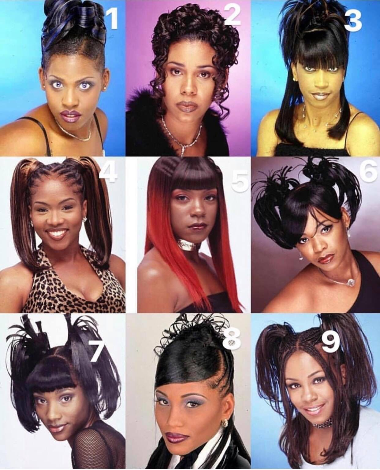 90s Hair 2000s Hairstyles Black Hair 90s 90s Hairstyles
