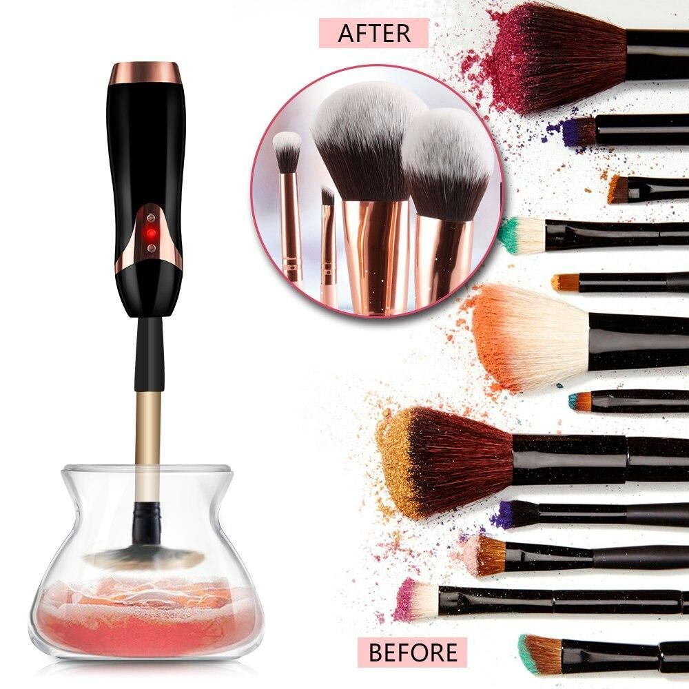 Automatic Makeup Brush Cleaner Dryer Machine All Brushes