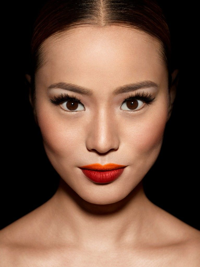 """Make Up Forever """"Be Bold. Be Unexpected. Be You"""" campaign. Makeup artist Mèlanie Inglessis."""