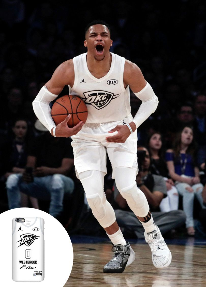 NBA All-Star 2018 Game Team Lebron Russell Westbrook. #nba #allstar2018 #