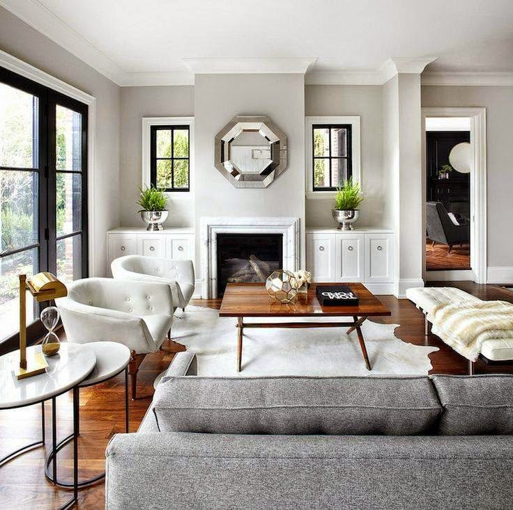 Copy Cat Chic Room Redo Bright Contemporary Living Room