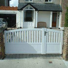 For driveway, gate, yet driveway gate