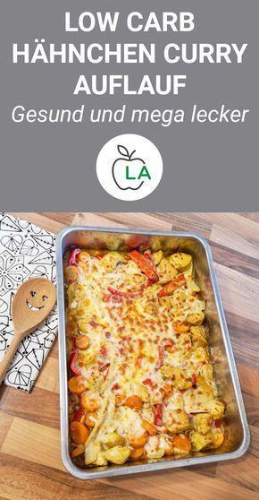 Hähnchen Curry Auflauf (Low Carb)
