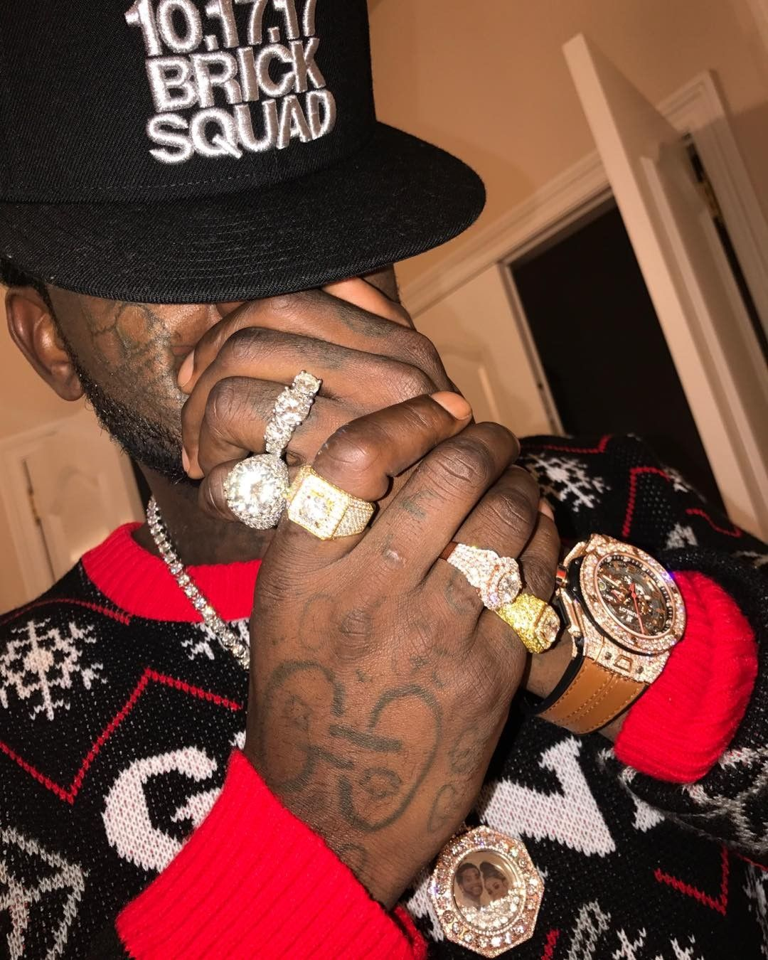 keyshia kaoir gucci mane the wopsters celebrate christmas - Gucci Mane Christmas