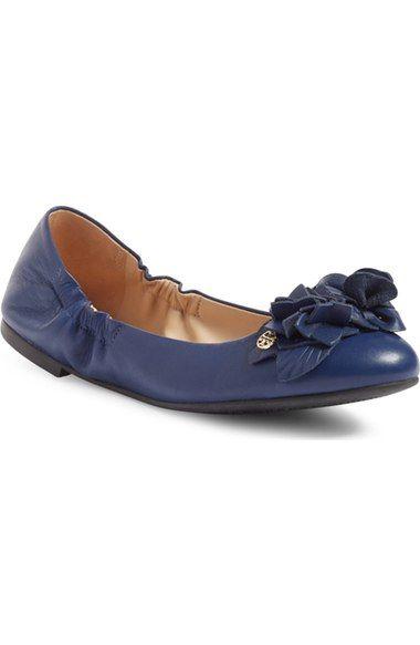 TORY BURCH 'Blossom' Ballet Flat (Women). #toryburch #shoes #flats