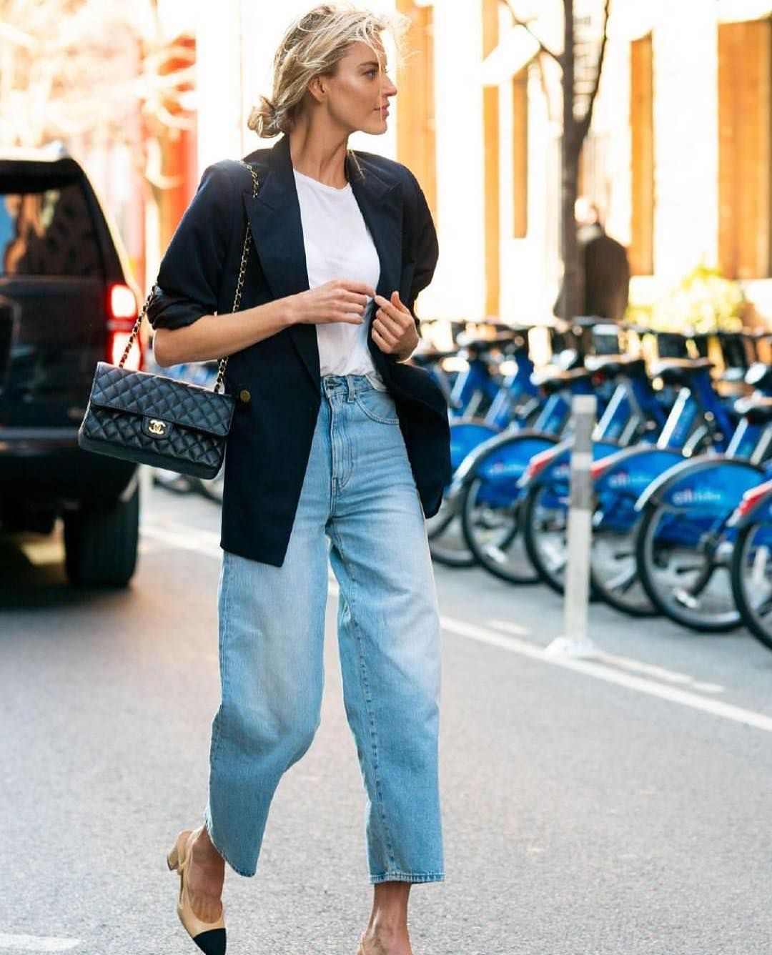 Photo of High Waist Wide Leg Jeans: für eine schmale Taille & lange Beine