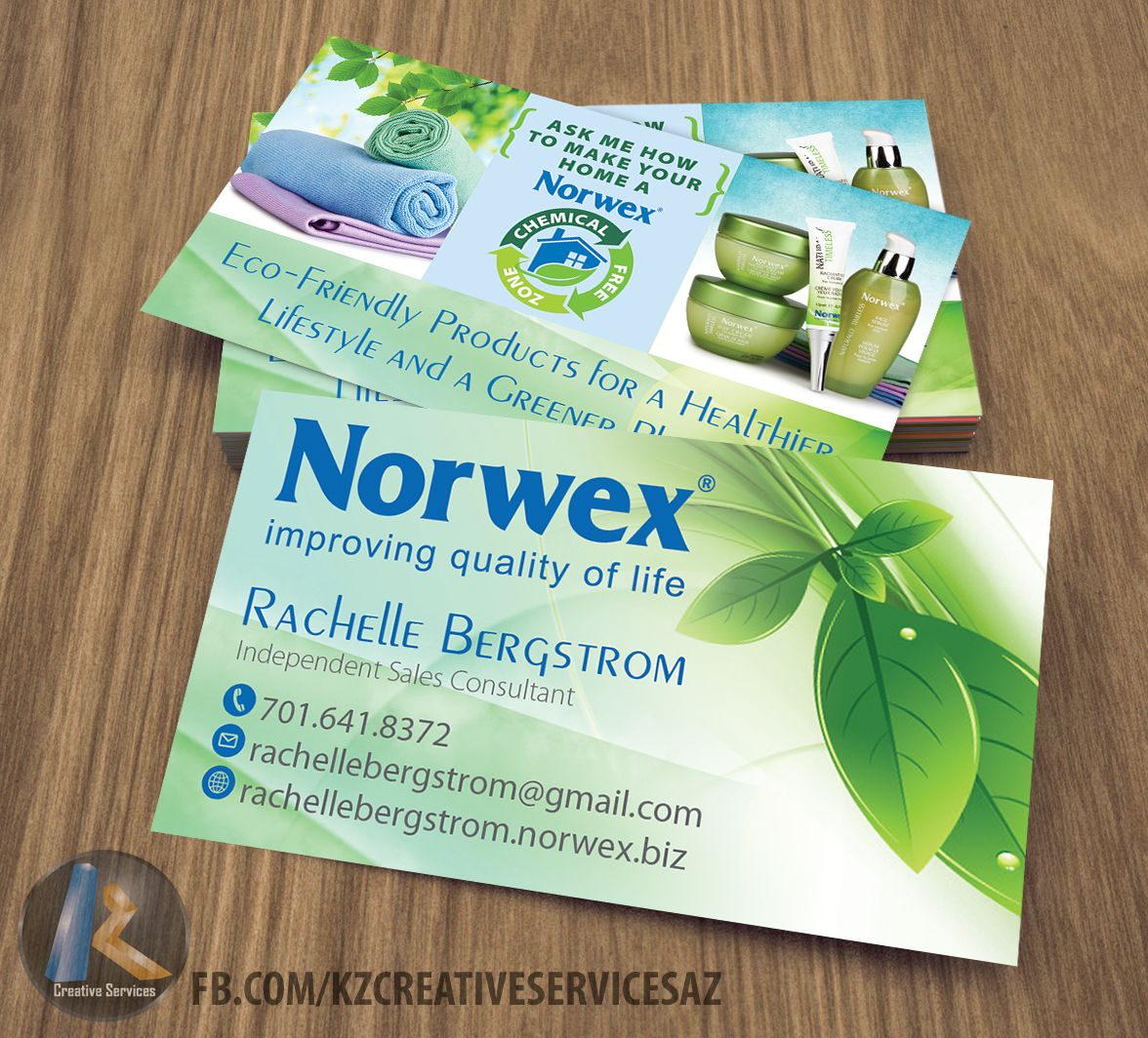 Norwex Business Cards Cleaning Business Cards Norwex Business Cards