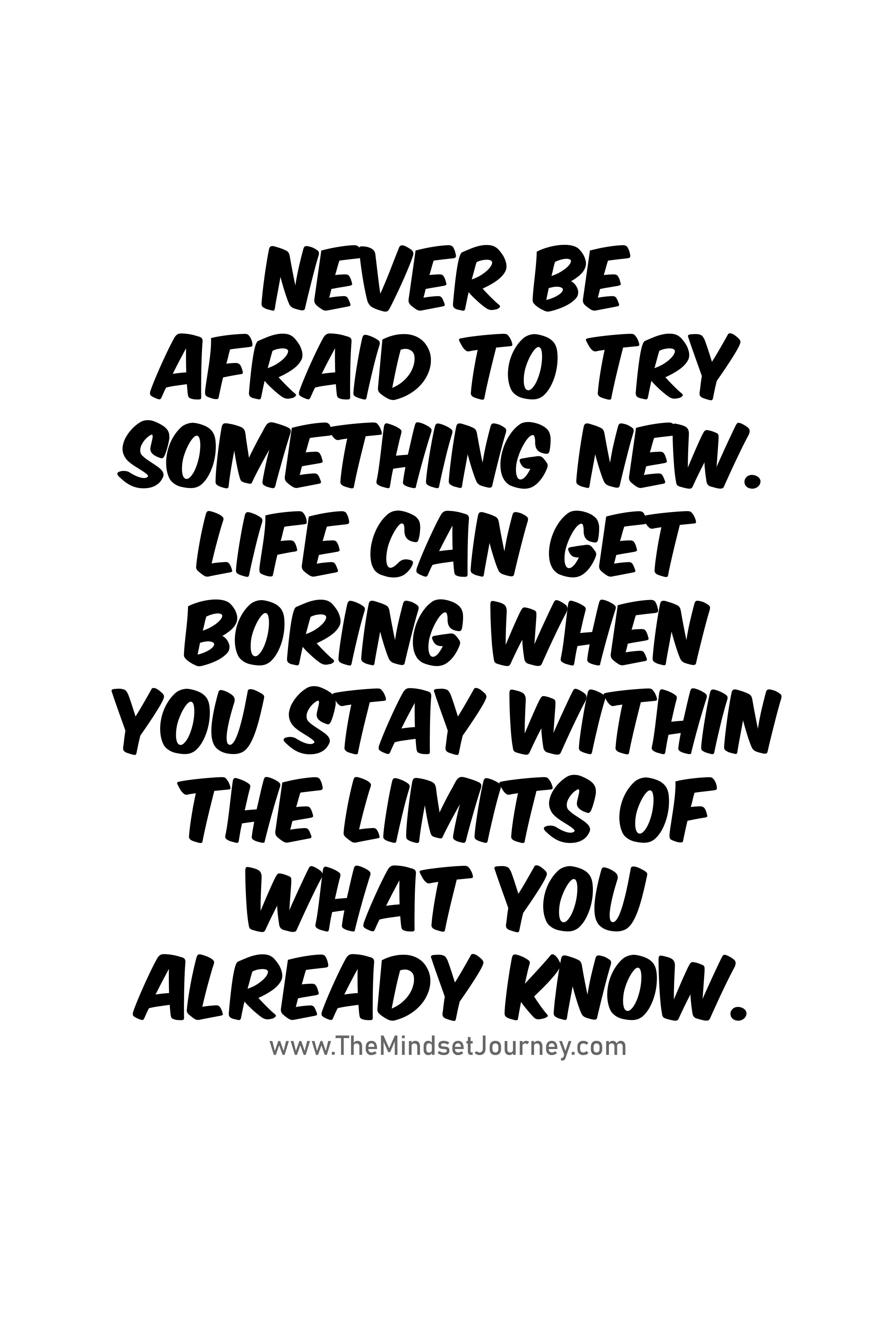 Boring Life Quotes Family Quotes Boring Life Quotes Something New Quotes Trying Something New Quotes