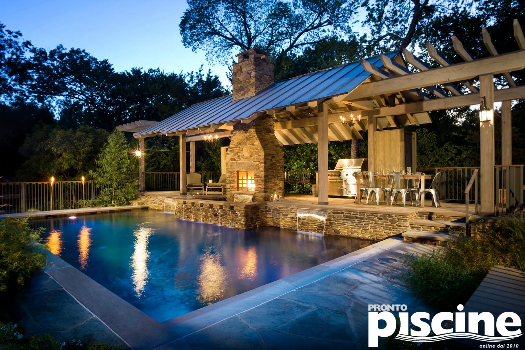 Arredi Per Piscine Esterne piscine di lusso | cortile della piscina, arredamento esterno