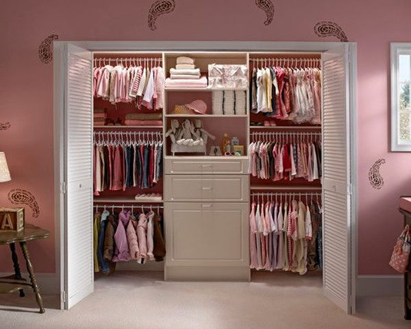 Pink Closet Organizer 35 Practical Kids Ideas