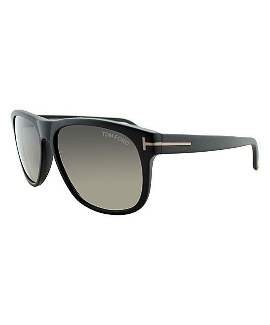Black Olivier Sunglasses