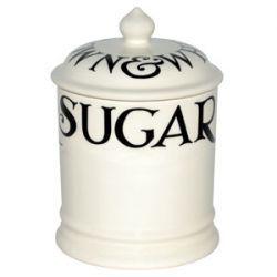 Emma Bridgewater Pottery Black ToastBlack Toast 1 Pint Sugar Storage Jar    View larger image  Black