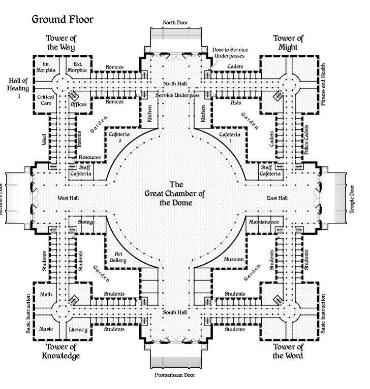 Floor Plan Prison Layout