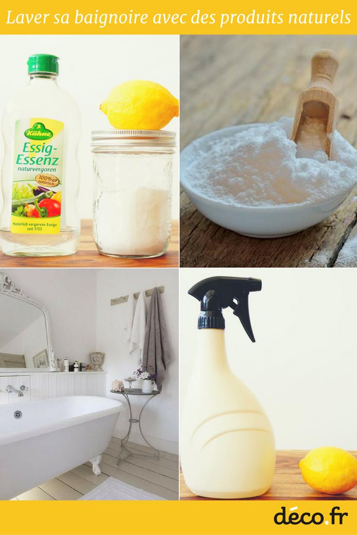 Meuble Salle De Bain Easy Richardson ~ astuces pour bien nettoyer sa baignoire sa baignoire vinaigre