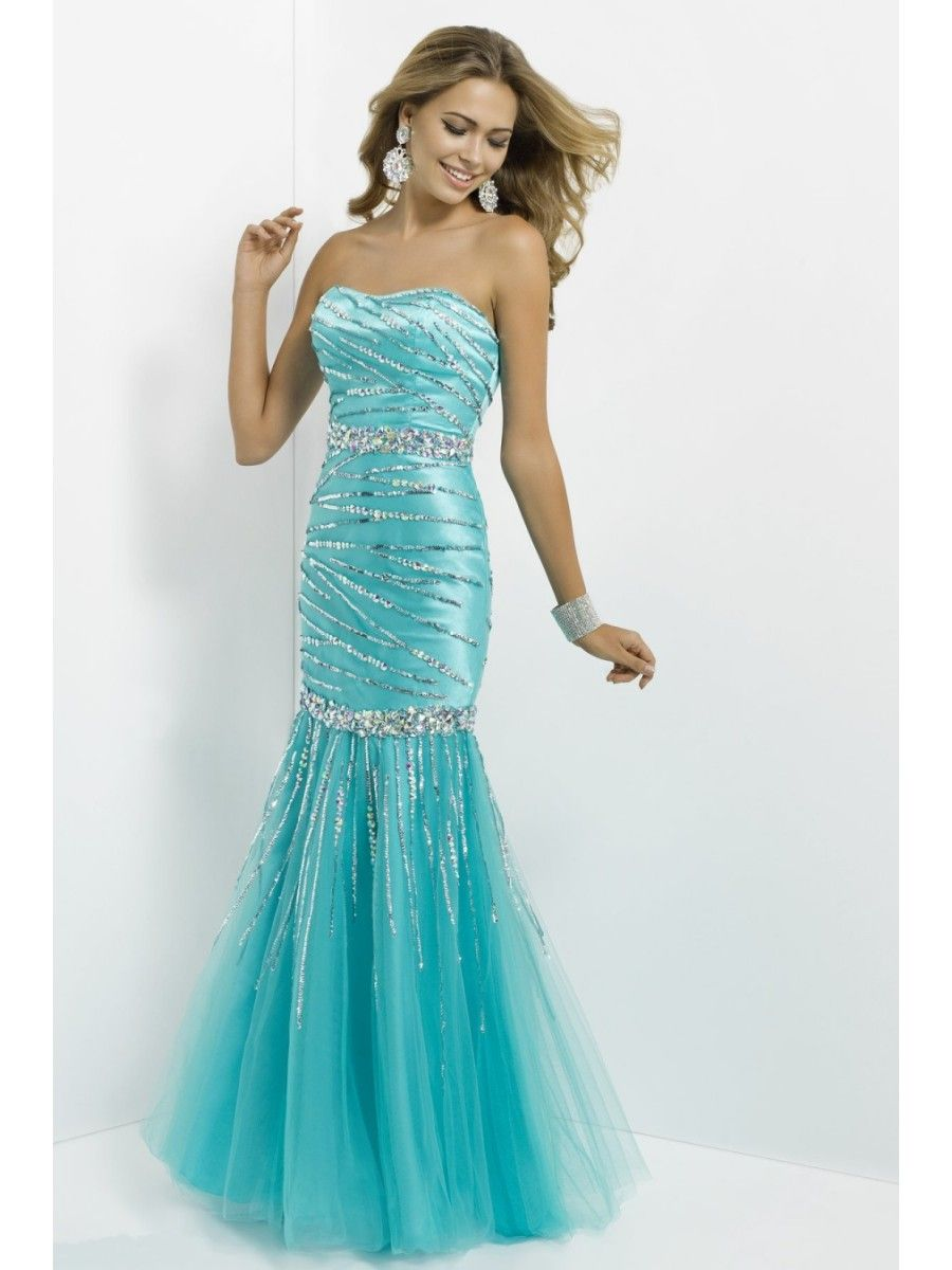 Beaded prom evening formal dresses fashion for special