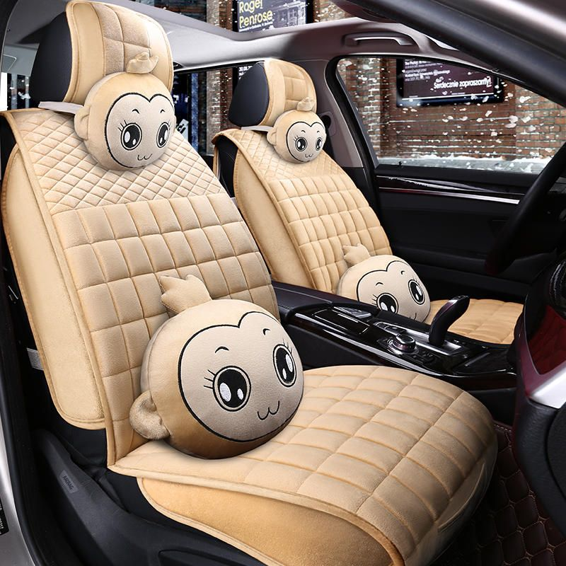 Winter Car Seat Cover Cushion Plush Car Accessories Car Styling Seat Cushion Covers Warm Seat Mats Safe Driving All Cars Aff Winter Car Seat Cover Interior Accessories Car Accessories