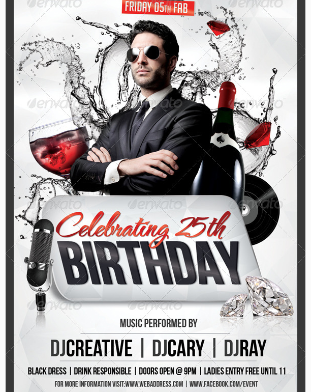 birthday party flyer templates ecza productoseb co