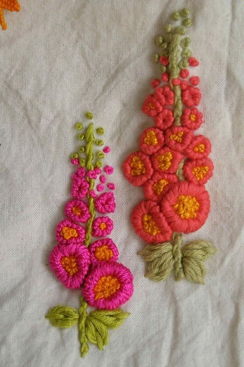 Three Simple Stitches for Hand Embroidery: