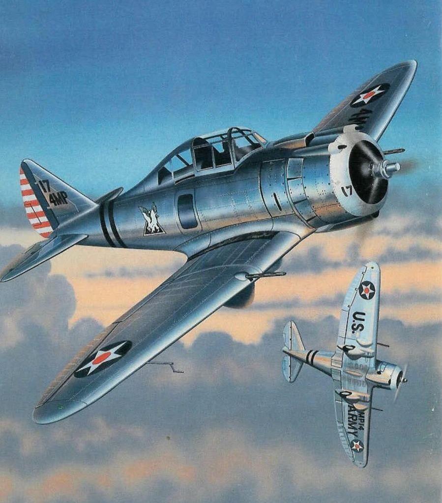 Seversky P 35 Aircraft Art Airplane Art Aviation Art [ 1023 x 899 Pixel ]