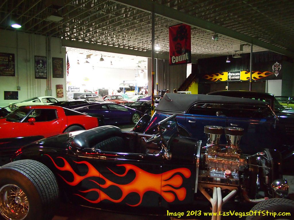 "Danny "" Count "" Koker car collection Custom Cars"