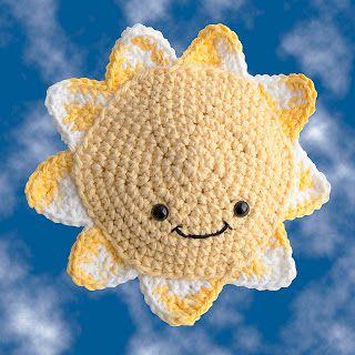 The Itsy Bitsy Spider Crochet: Autism Shines Amigurumi Sunshine free pattern for crochet