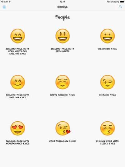 Iphone Smiley Emoticons Meanings Iphone Smiley Emoticons Meanings