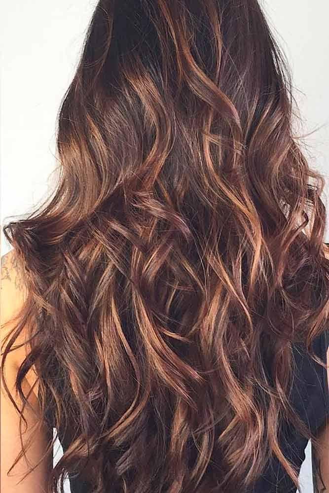 21 Ideas Of Highlights For Dark Brown Hair