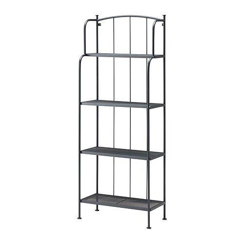 Lacko Shelving Unit Outdoor Gray 24x63 Ikea Hyllor Ikea Forvaring