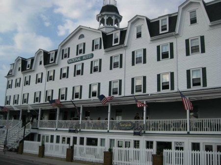 National Hotel Block Island Rhode Love Eating Dinner Here And Bike Riding On The