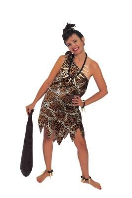 Cave Woman Beauty Adult Fancy Dress Halloween Party Costumes All Sizes