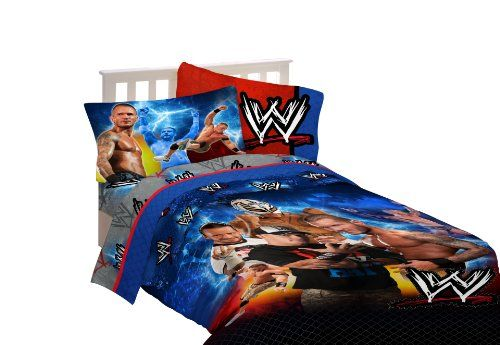 Wwe Wrestling Champions Twin Sheet Set, 2015 Amazon Top Rated Sheets U0026  Pillowcases #Home