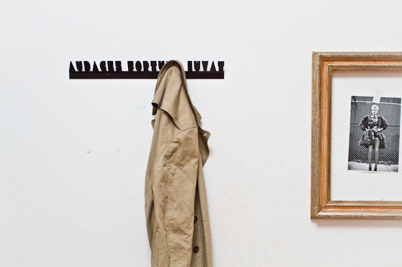 Audaces Fortuna Iuvat - coat hanger by #zerozerodesign #design #madeinitaly $44 €35. http://www.zerozerodesign.eu
