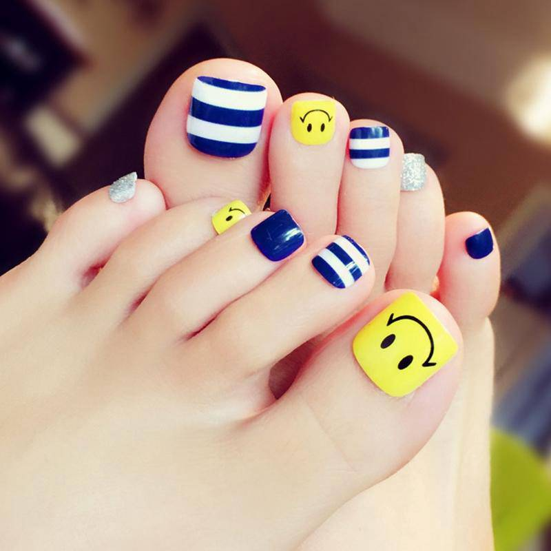 80 Easy And Adorable Summer Toe Nail Art Designs Summer Toe Nails Feet Nail Design Toe Nails