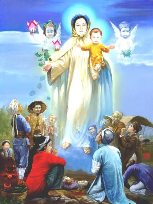 Our Lady of La Vang. A persecuted Catholic community gathered ...
