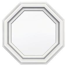 5000 Series Vinyl Octagon Window 24x24 Featuring J