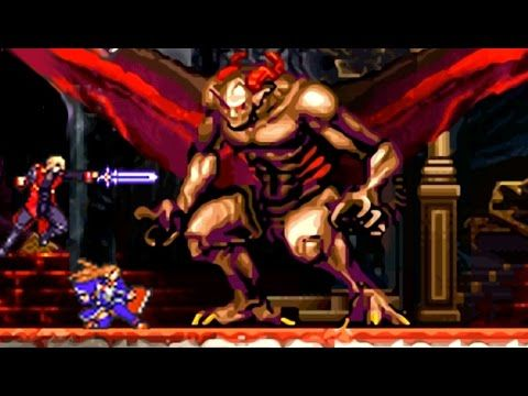 Castlevania Portrait Of Ruin All Bosses No Damage Video Game Video Games Konami