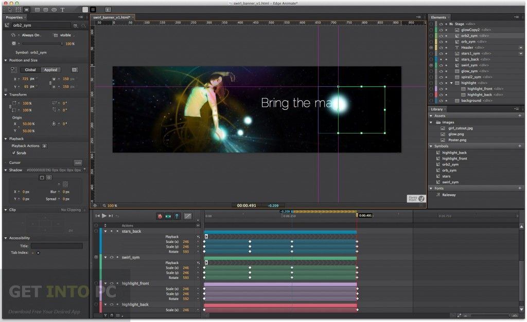 Adobe Edge Animate CC 2014 Free Download | Adobe animate, Adobe ...