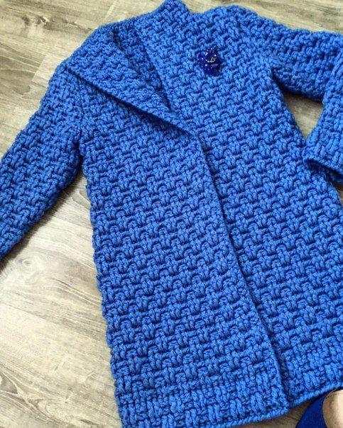 Abrigo de crochet #bonnets
