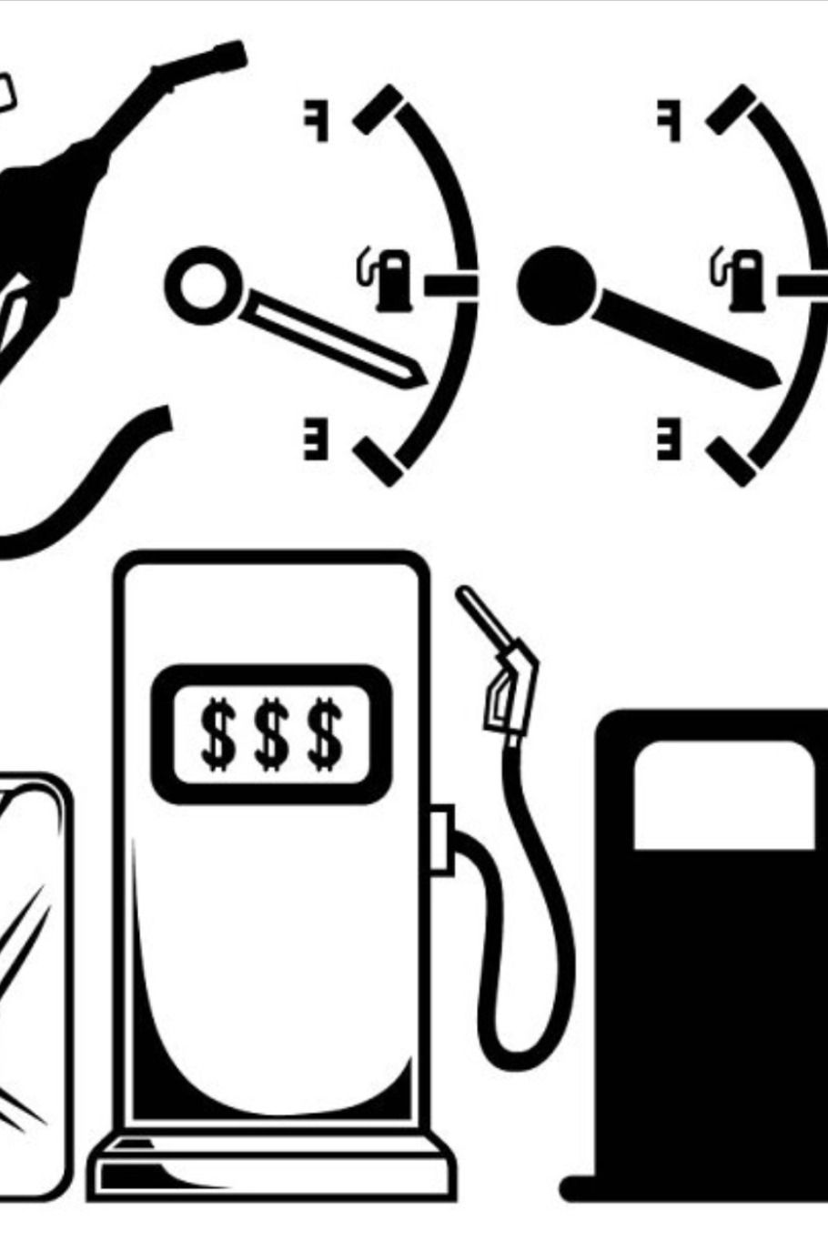Gas Station In 2020 Hand Drawn Icons Gas Station How To Draw Hands