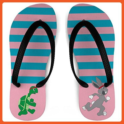 Running Flip Flops Tortoise and Hare