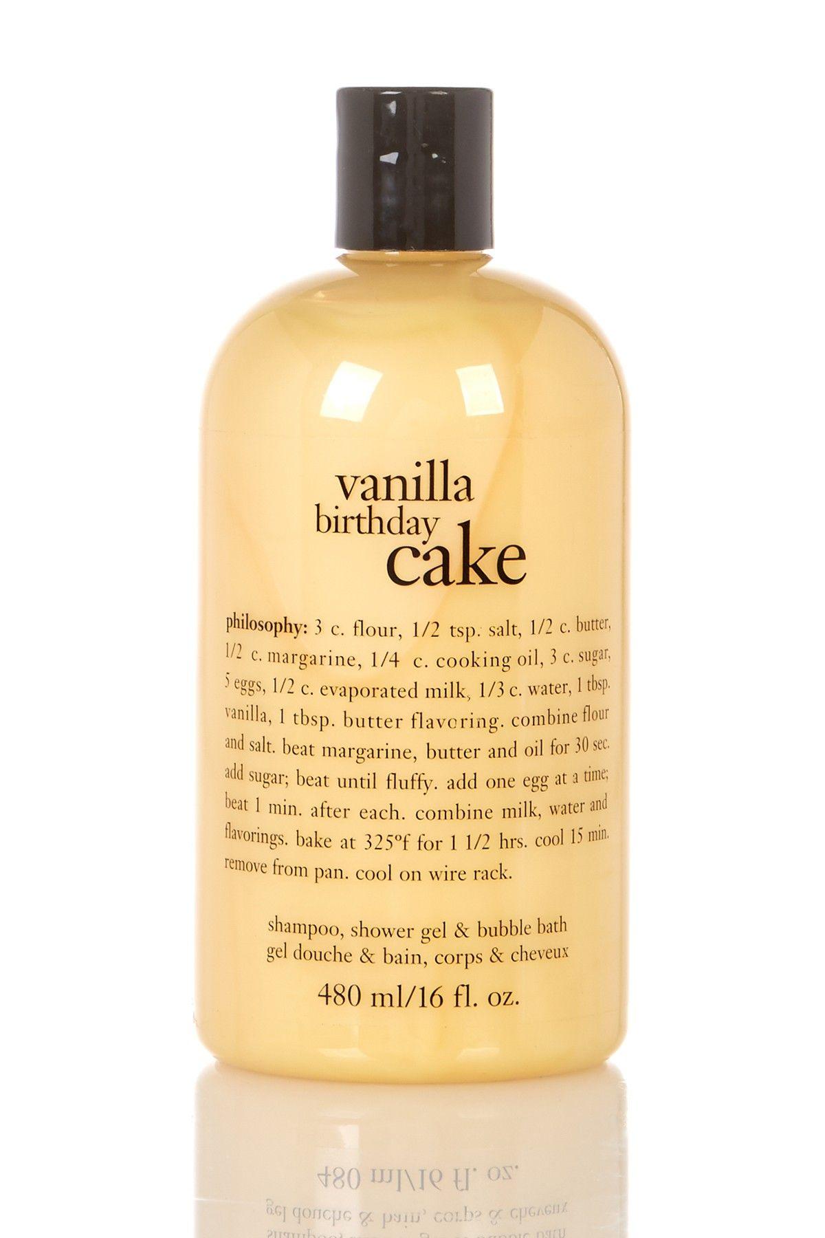 Philosophy Vanilla Birthday Cake 3 In 1 Shower Gel