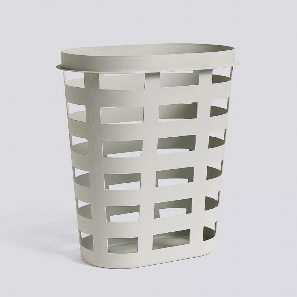 Hay Storage And Laundry Basket Light Grey Basket Lighting