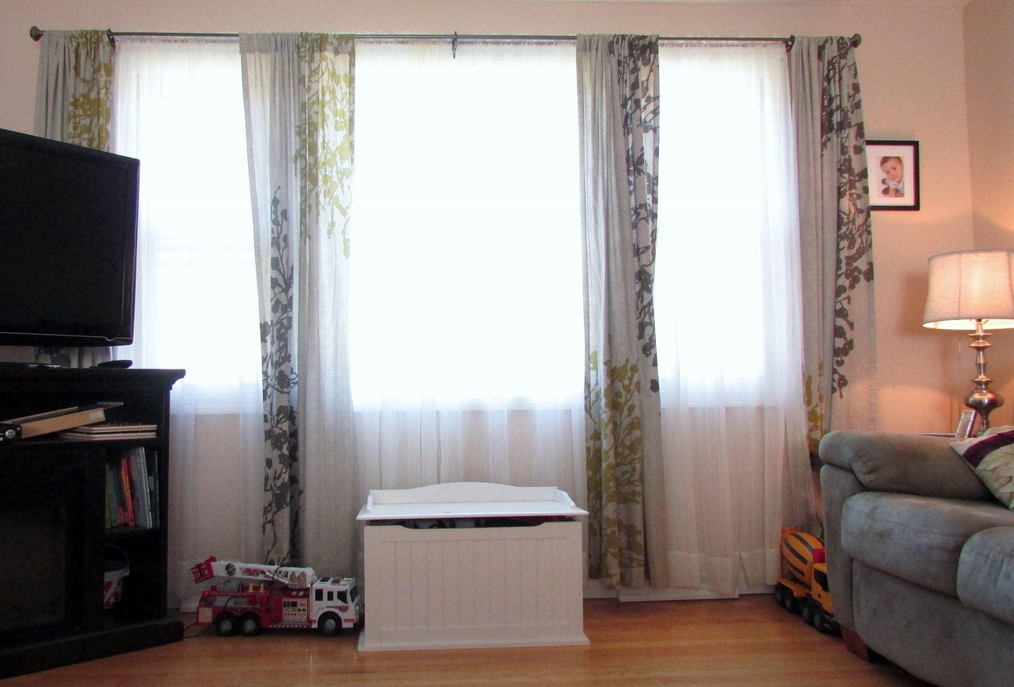 Curtains For A Large Picture Window | Picture window ...