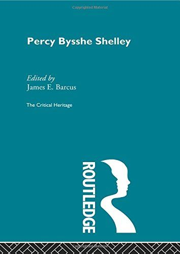Percy Bysshe Shelley: The Critical Heritage. Edited by James E. Barcus