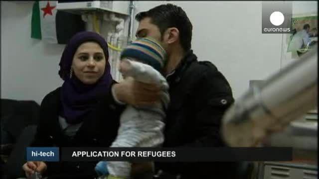 Aplicaciones para refugiados