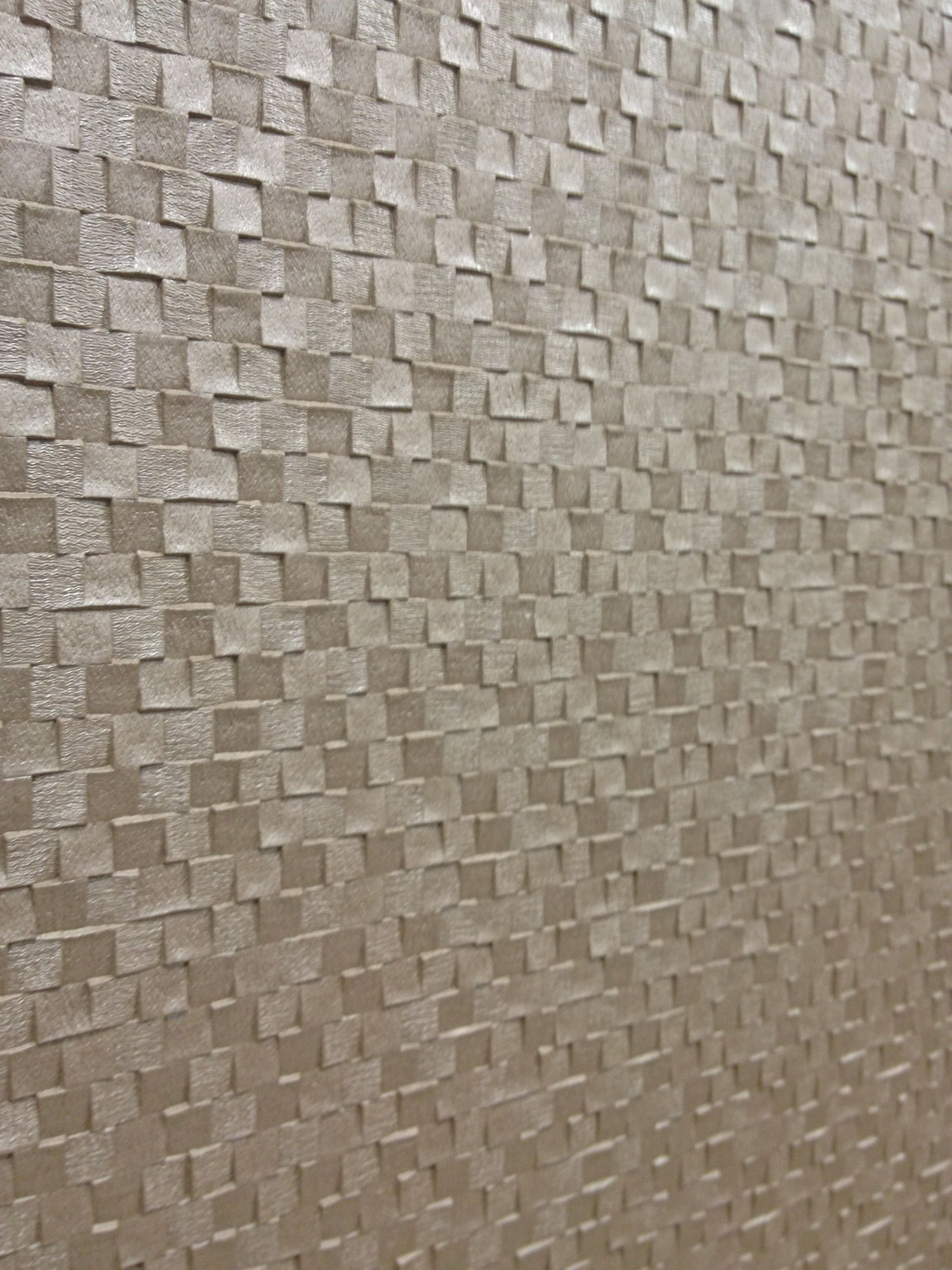 Textured wallpaper I don't like wallpaper but I saw this